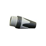 BXX 8 kleurtule voor Neutrik XLR-plug grijs