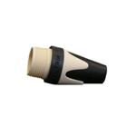 BXX 9 kleurtule voor Neutrik XLR-plug wit