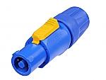 NAC 3 FCA Powercon kabeldeel blauw