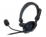 HS1/D headset met microfoon voor intercom, enkelzijdig