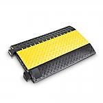 Defender Midi 4C kabelbrug zwart/geel 89cm