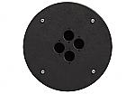 CRP 304 blindplaat met 4x D-size hole voor Procab CDM-310