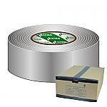 Gaffa Tape 50mm grijs 50m, doos van 18 stuks