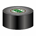 Gaffa Tape 75mm zwart 50m, per rol