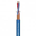 Stage 22 Highflex microfoonkabel 2x0,22mm blauw, knip p/m