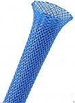 Flexo Pet sleeving 6,4 mm blauw