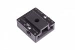 QWIQR schuifconnector zwart