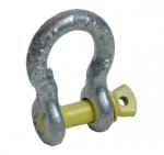 Harpsluiting 2000kg (borstbout) zilver