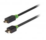 High Speed HDMI-kabel naar Micro-HDMI verguld met ethernet - 2,0m
