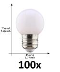 E27 led lamp 1W koud wit grootverpakking