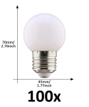 E27 led lamp 1W extra warm wit grootverpakking