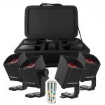 Freedom H1X 4-Pack zwart mini led spots