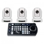 PROMO met 3x P200W camera en 1x Keyboard Controller
