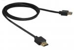 High Speed Ultraslim 4K HDMI-kabel verguld met ethernet - 2,5m