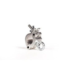 Halfcoupler 48-51mm WLL 200kg voorzien van hijsoog zilver