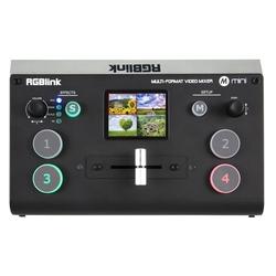 Mini+ videomixer 4-kanaals incl. multiview, scalers en USB-streaming